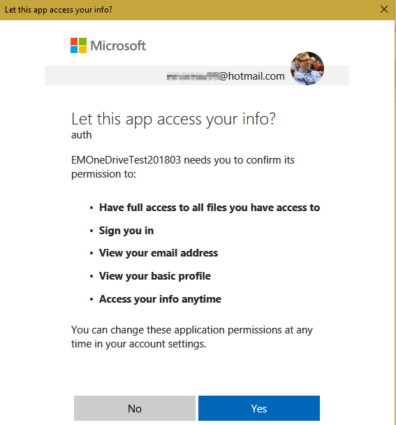 Éric Moreau's blog : Using OneDrive from your  Net Windows